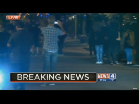 BREAKING NEWS: St. Louis Protest LIVE Bricks and Tear gas!