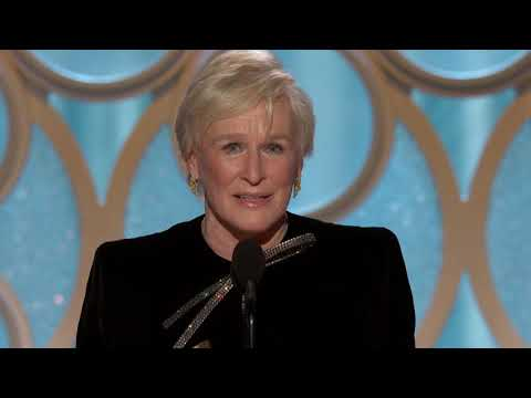 [HD] Glenn Close Wins Best Actress | 2019 Golden Globes