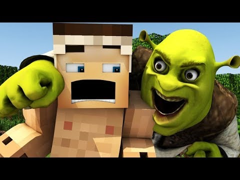 SHREK IN MINECRAFT! | REALISTIC 3D MINECRAFT ANIMATION