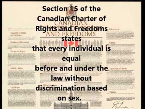 Canadian Charter of Rights and Freedoms PSA