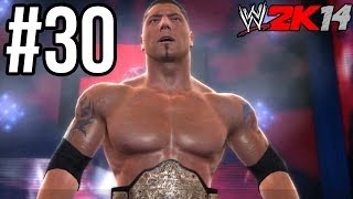 WWE 2K14 - Batista vs. Undertaker (WrestleMania 23) | 30 Years of WM: Ruthless Aggression