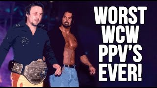 TOP 10 WORST WCW PAY PER VIEW'S OF ALL TIME!