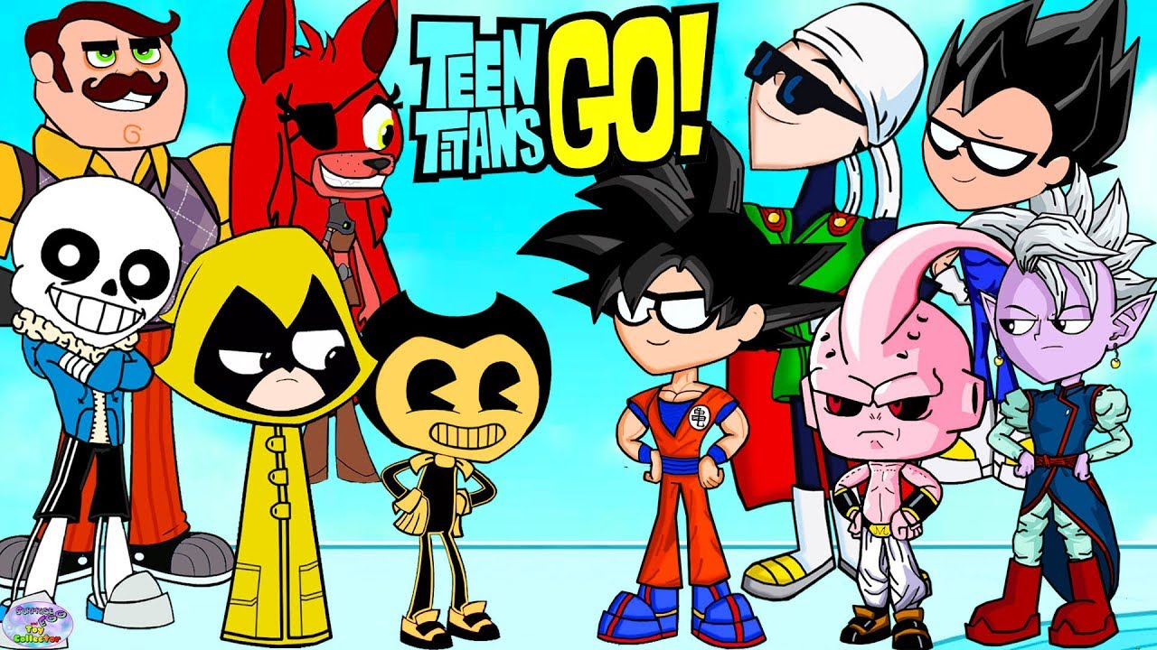 Download Teen Titans Go! Color Swap into Dragonball Z FNAF and Bendy Surprise Egg and Toy Collector SETC