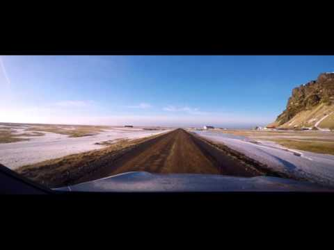 Iceland dash cam complete , widescreen edit, HD720