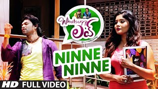 Download Video Ninne Ninne Full Video Song || Whatsupp Love || Jeeva, Aishwarya Sindogi MP3 3GP MP4