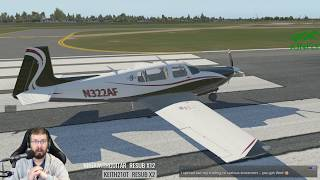 The NEW Mooney M20R Ovation III with G1000 for X-Plane 11