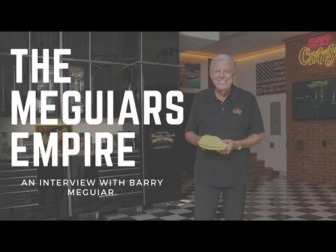 Barry Meguiar - How The Meguiar's Empire Started On The Auto Detailing Podcast