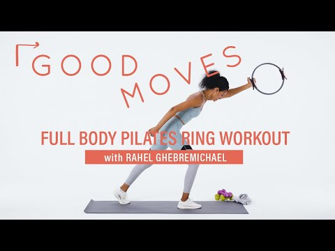 This 8-minute Pilates ring workout will leave your abs sore for days