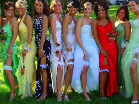 56bc844c47e Prom girls showing garters - YouTube