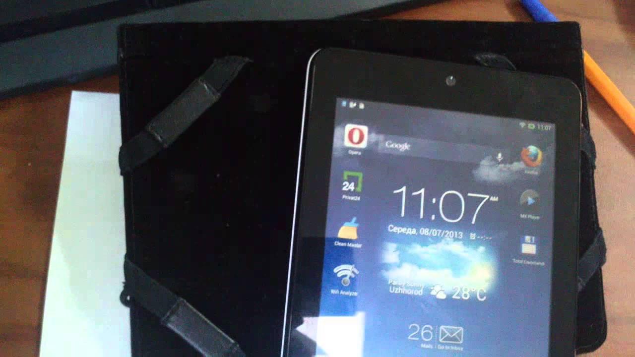 Обзор планшета Asus Memo Pad HD 7 ME173X tablet pc review