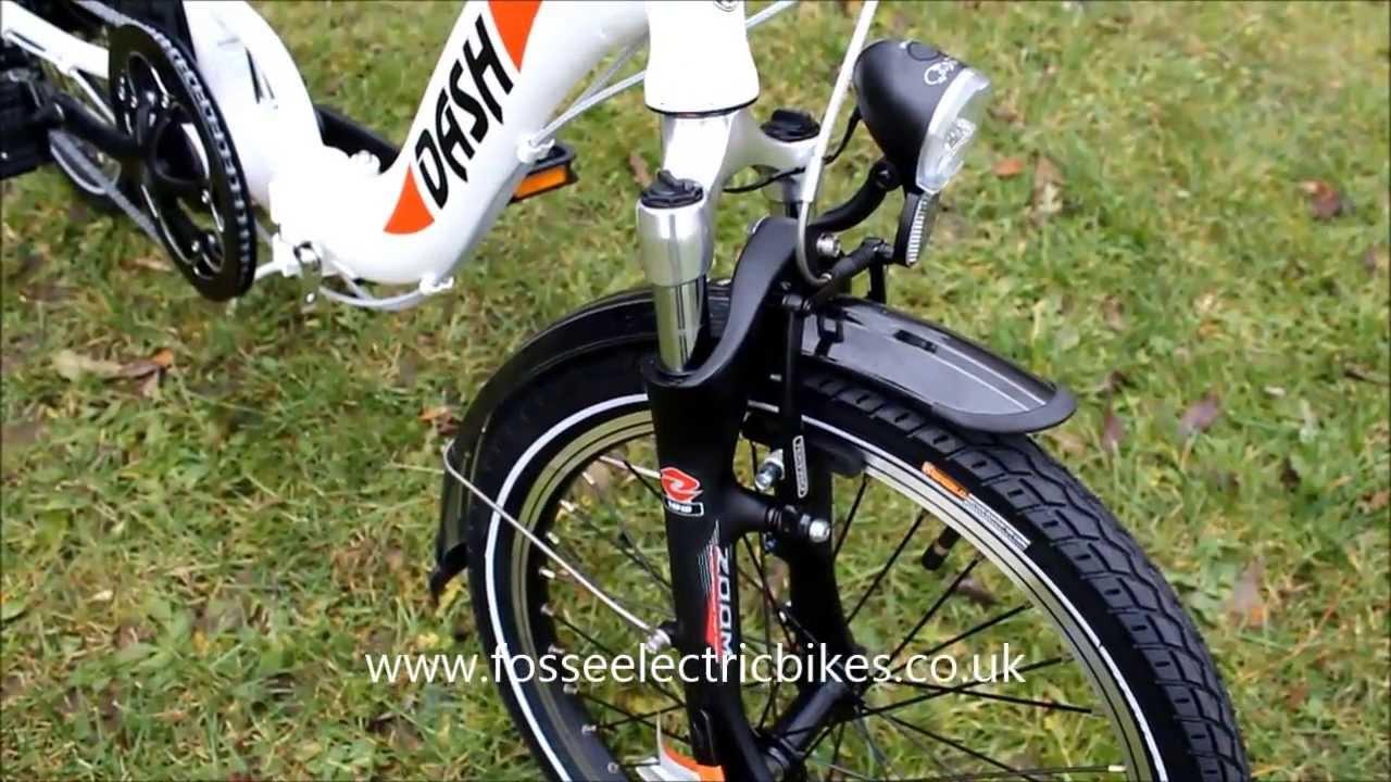 Ebike Electric Bike Review Folding Batribike Dash Folding