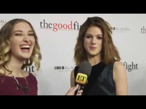 Rose Leslie at The Good Fight Red Carpet Premiere