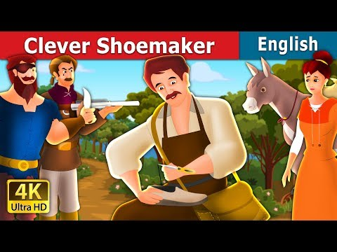 Clever Shoemaker  | Stories For Kids | English Fairy Tales