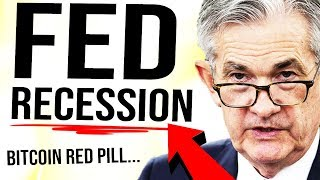 FED YELLS RECESSION?! 😳 BITCOIN GLOBAL HEDGE!!