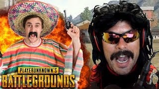 Doc plays PUBG with Randoms [FUNNY] and Speaks Chinese!
