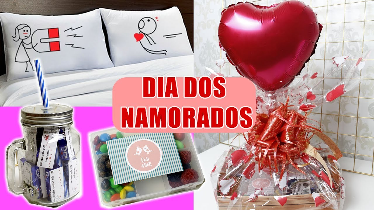 Dia Dos Namorados: DIY DIA DOS NAMORADOS: Presentes Baratinhos Para ELE E ELA