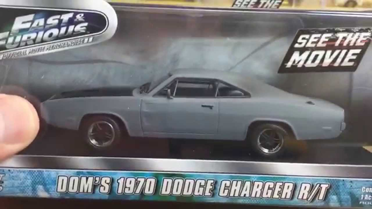 Greenlight 1 43 Fast And Furious Doms 70 Dodge Charger