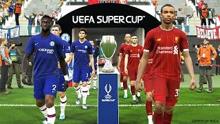 LIVERPOOL vs CHELSEA - UEFA Super Cup 2019 | PES 2019/2020 Gameplay