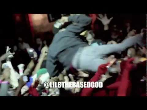 """CROWD GOES CRAZY! WHEN LIL B PERFORMS """"CHARLIE SHEEN""""SHEEN WINNING SWAG"""