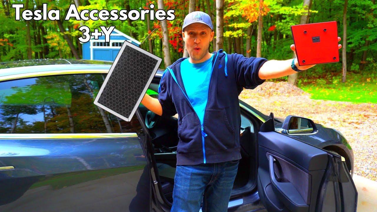 Tesla Model 3 and Y Accessories For New and Long Time Owners! | Jeda Charger | Tesmanian Spoiler