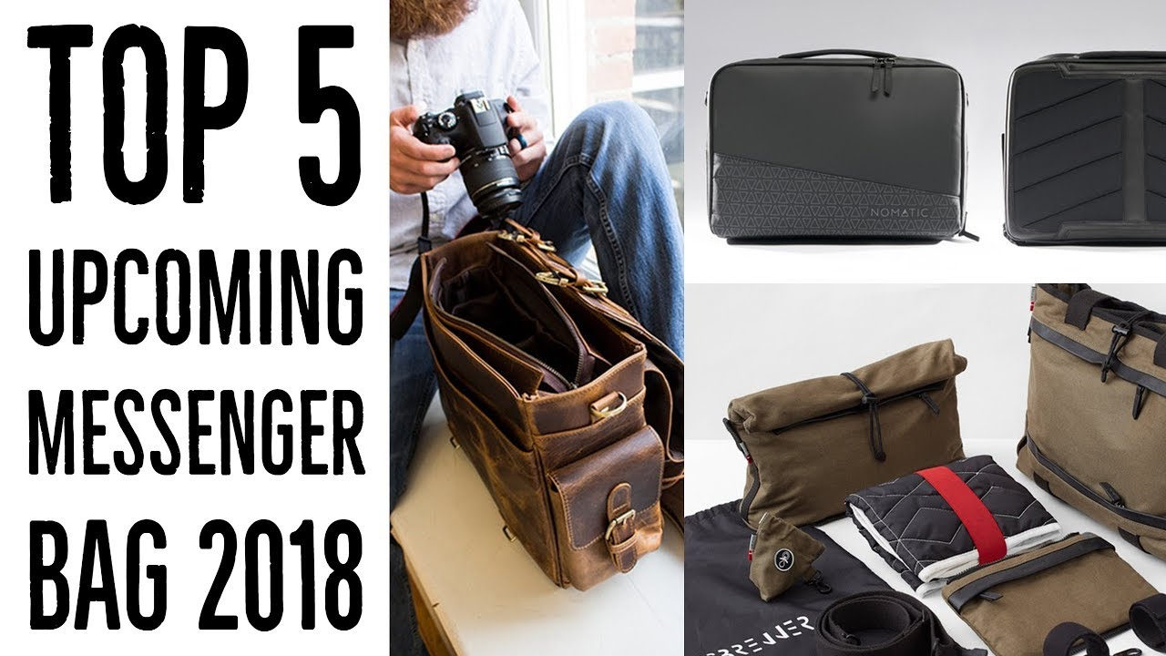 Top 5 Upcoming Messenger Bag 2018 Best Bags For Work Latest Laptop