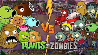 Best Plants vs Zombies Animation - Episode 1,2,3,4,5,6,7 - Primal Cartoon Anime Video PVZ