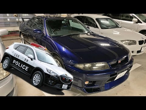 JAPAN POLICE PULLED ME OVER IN GTR