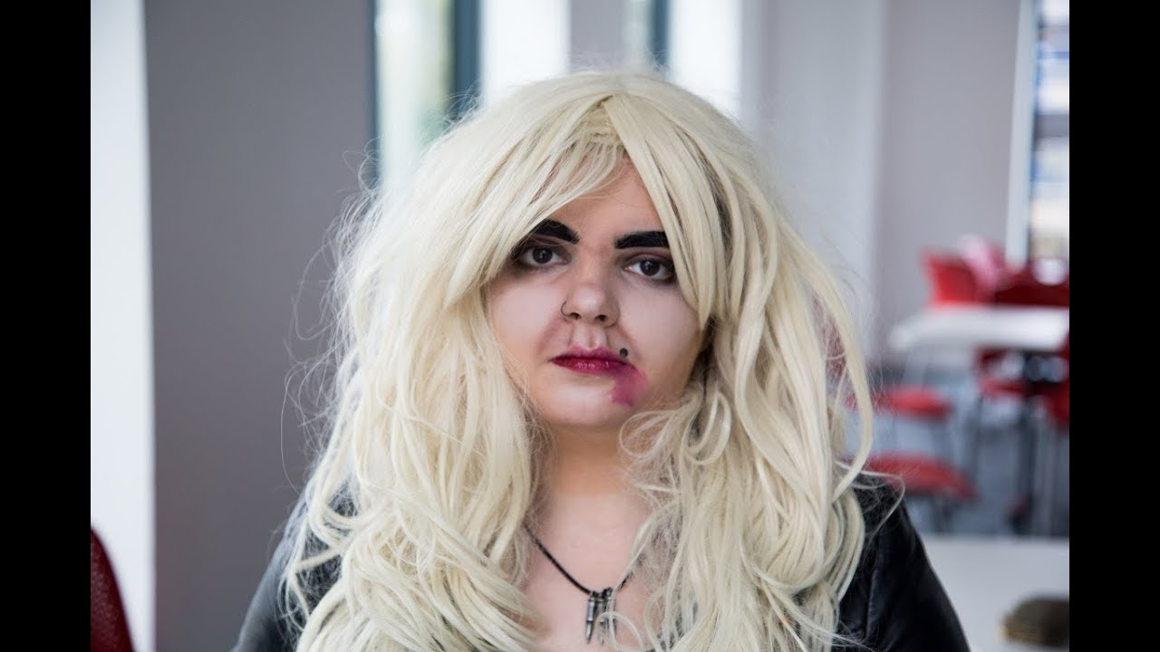 Tiffany Valentine Costume: Bride Of Chucky Hair
