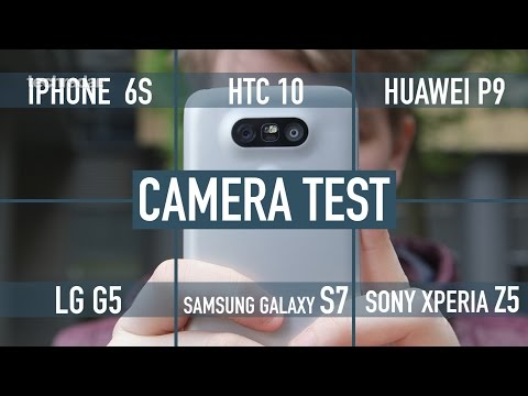 Smartphone camera comparison: iPhone 6S v Galaxy S7 v HTC 10 v LG G5 v Huawei P9 v Xperia Z5