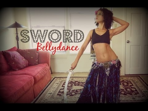Belly dance full workshop: sword belly dancing