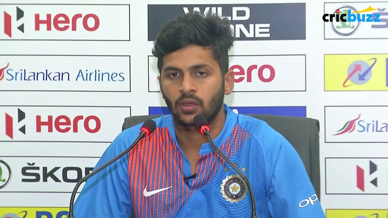 The First Game Was An Eye Opener For Us Shardul Thakur Youtube