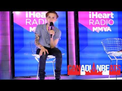 iHeartRadio MMVAs - Media Room with Scott Helman