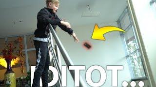 HANDY im TREPPENHAUS runtergefallen... (Albtraum) - Daily Vlog 45