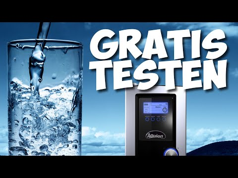 Aquion Wasserfilter - 14 Tage kostenlos testen!