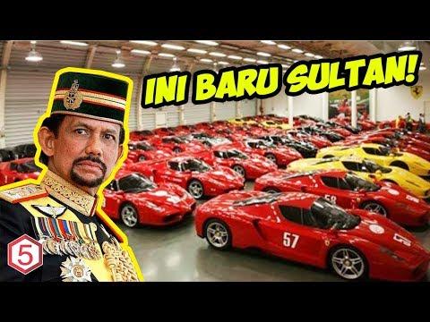 ini baru sultan, Sang Sultan Yang Punya Koleksi 7000 Mobil Mewah Dan ada yang berlapis emas
