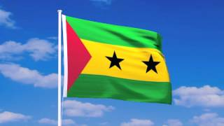 サントメ・プリンシペ民主共和国の国旗