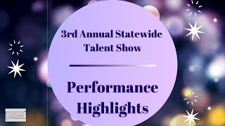 LFOA, Inc  3rd Annual Statewide Talent Show: Performance Highlights