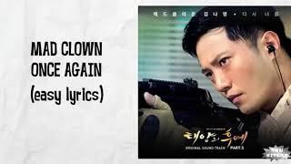 Descendants of the sun 💋💋Mad clown Once again lyrics video