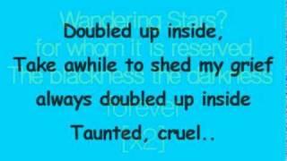 Portishead - wandering star Lyrics