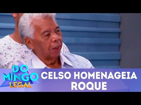 Celso homenageia Roque | Domingo Legal (01/07/2018)