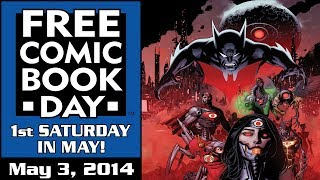Unboxing Free Comic Book Day 2014 at Stadium Comics - see all the Free Books here! FCBD