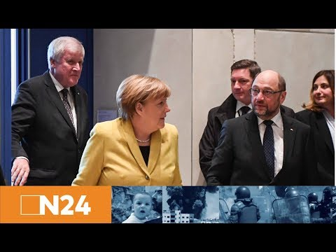 Letzte Chance für Merkel und Schulz: GroKo-Sondierungen beginnen unter extrem großen Druck