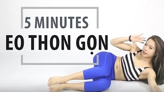 [5 MINUTES SERIES] Eo thon gọn | Hana Giang Anh | Workout #30
