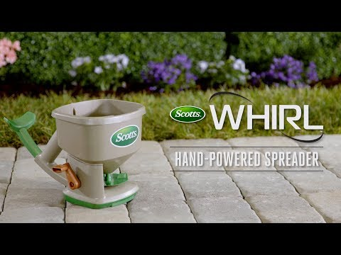 How to Use the Scotts® Whirl™ Hand-Powered Spreader