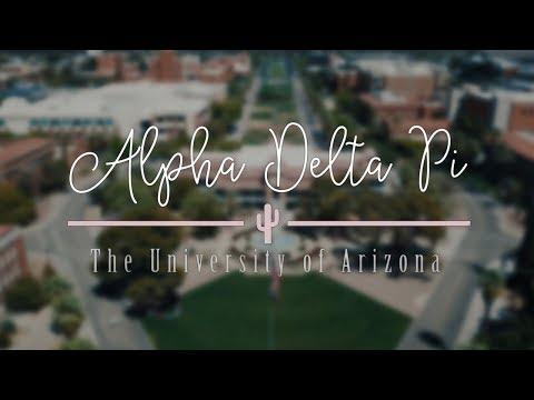 University Of Arizona Alpha Delta Pi | Recruitment Video 2018