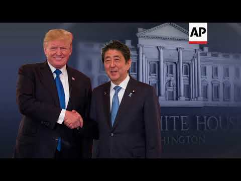 White House spotlights key issues ahead of Abe meeting