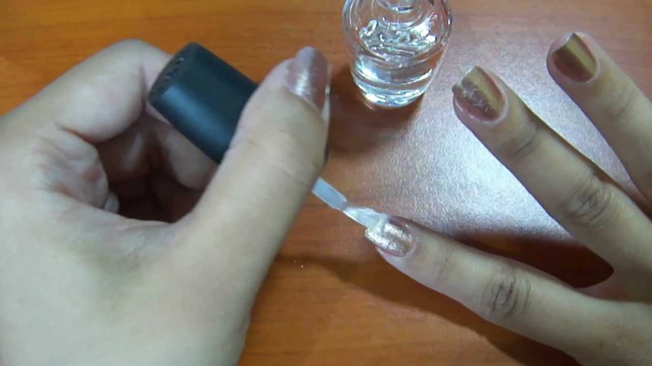 How to use a nail polish thinner [Tutorial] - YouTube