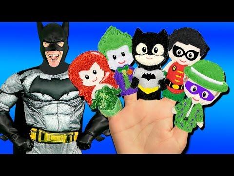 Download Batman Finger Family Song - Superheroes and Villains! Batman, Joker, Riddler, Catwoman Snapshots