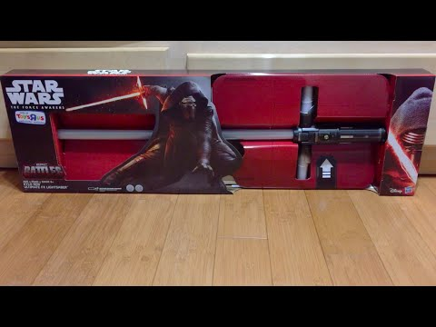 Toys R Us Exclusive Kylo Ren Ultimate FX Lightsaber Review