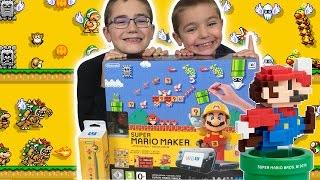 Unboxing/déballage Console Nintendo Wii U Super Mario Maker - premium pack édition limitée + Amiibo